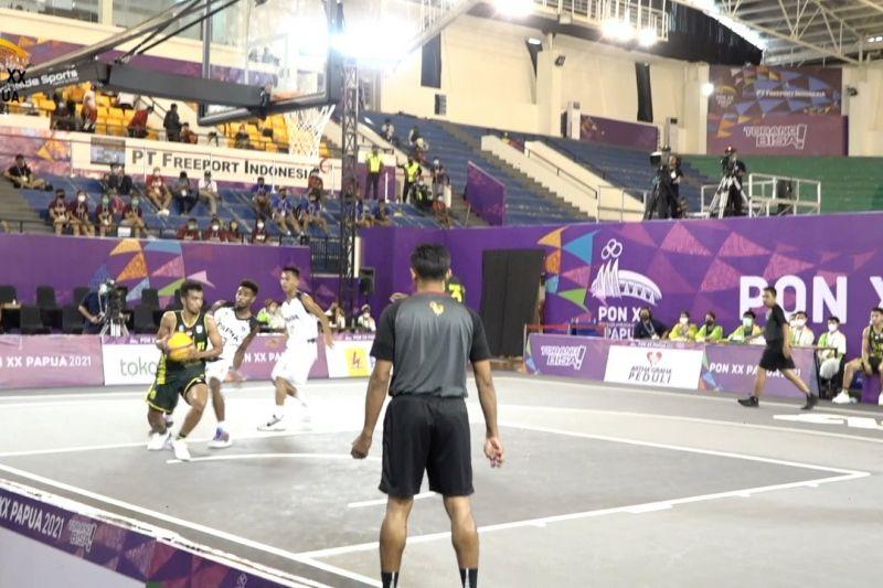 Sengit, basket putra Jatim lolos semifinal basket 3x3 thumbnail