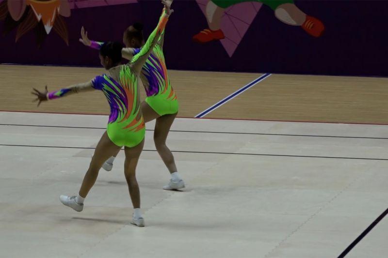 Lampung bawa satu medali emas PON Papua dari senam aerobik thumbnail
