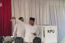 Flash - Prabowo mencoblos di Hambalang