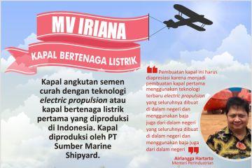 MV Iriana Kapal Bertenaga Listrik