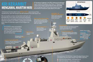 KRI Kerambit Mengawal Maritim NKRI