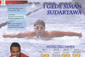 Atlet Berprestasi: I Gede Siman Sudartawa