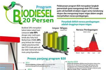 Program Biodiesel 20 persen