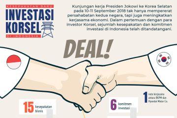 Kesepakatan baru investasi Korsel di Indonesia