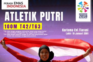 Peraih Emas Indonesia: Karisma Evi Tiarani
