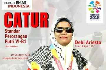 Peraih Emas Indonesia: Debi Ariesta