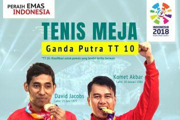 Peraih Emas Indonesia: Tim Tenis Meja Putra