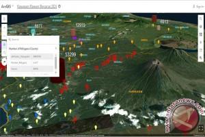 Peta Cerdas 3D siap pandu usaha penyaluran bantuan saat Bali siaga hadapi potensi bencana vulkanik