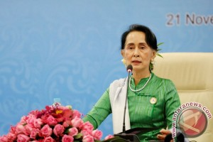 Suu Kyi bahas pemulangan Rohingya dengan menteri Bangladesh