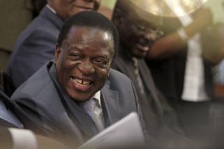 Zimbabwe punya presiden baru, Emmerson Mnangagwa