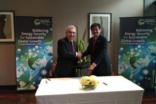 Perkuat ketahanan energi, Indonesia teken joint work programme dengan IEA