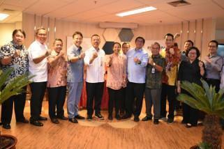 Akta pengalihan saham tiga BUMN tambang kepada Inalum resmi ditandatangani