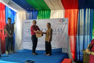 HUT ke-32, Indonesia Re gelar acara bakti sosial