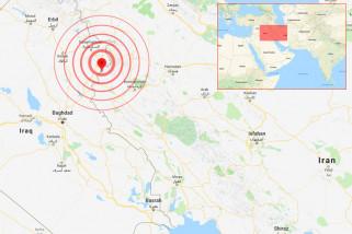 Gempa kembali guncang perbatasan Iran-Irak