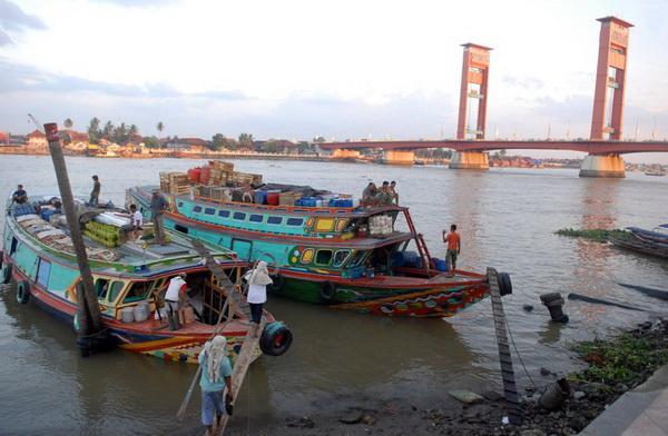 Pencemaran sungai Musi masih dalam batas wajar