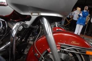 Konvoi motor gede diprotes di Meulaboh