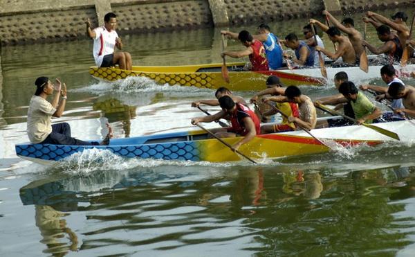 11 negara ramaikan lomba perahu naga di Padang