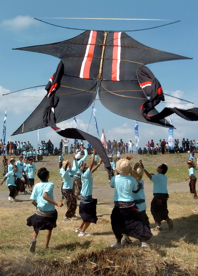 Sanur International Kite Festival Diikuti 1.100 Layangan