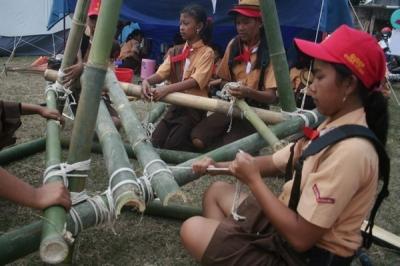 """Kompetisi pramuka """"Indonesia Scout's Challenge 2015"""" dibuat modern"""