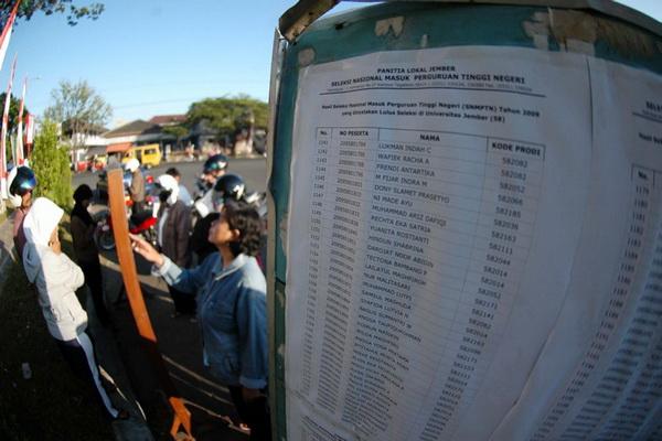 118.233 Peserta Ujian Tulis Lulus SNMPTN 2011