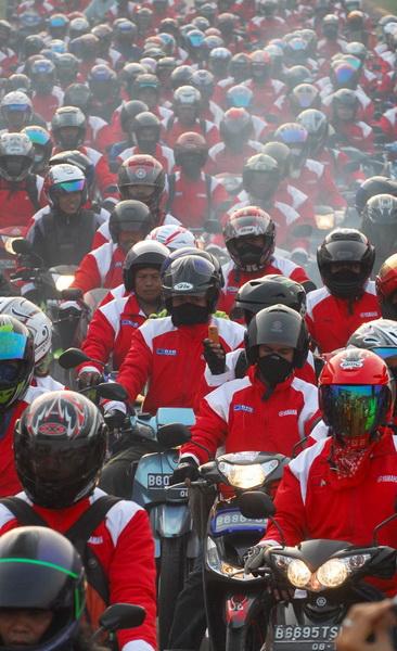 Jasa Raharja Gelar Mudik Gratis Sepeda Motor 2011