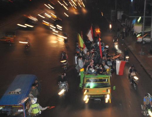 Samarinda larang warga konvoi takbir keliling