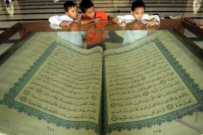 Ribuan siswa Jakarta pecahkan Rekor Muri kaligrafi