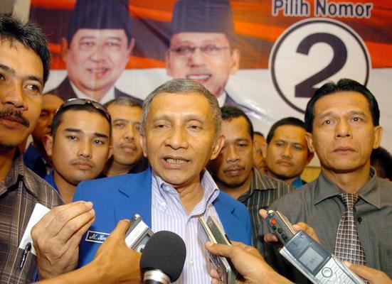 Amien Rais prihatin petinggi parpol di Indonesia terlibat korupsi