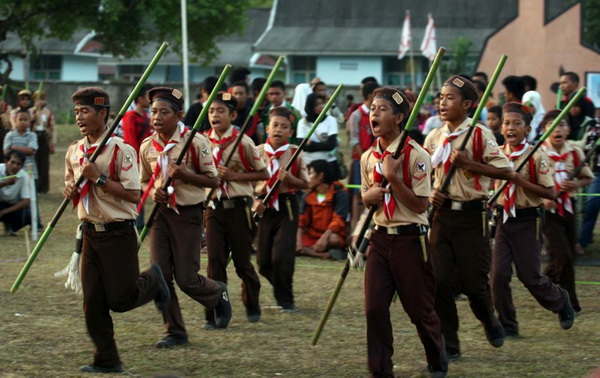 Perkemahan Budaya Nasional 2012 ditempatkan di Polman