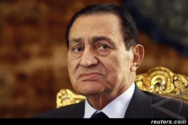 Nyawa Mubarak bergantung alat medis