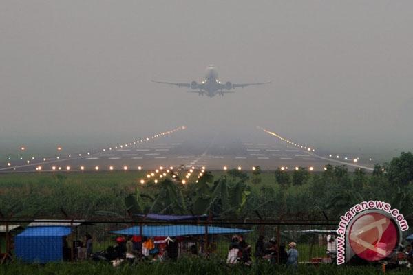 Kabut Asap Ganggu Penerbangan di Dumai