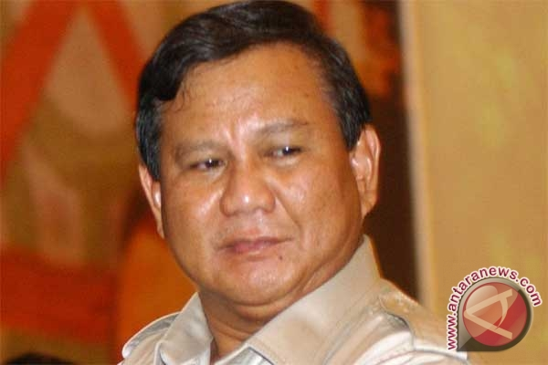Prabowo Subianto bersedia menjadi calon presiden