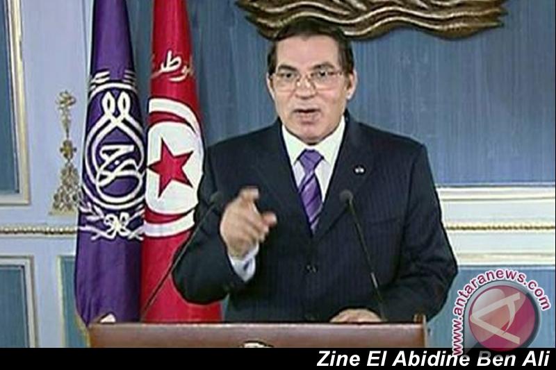 Pengadilan Tunisia vonis Ben Ali 20 tahun penjara
