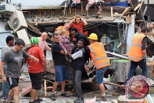 Berita Selandia Baru: Korban Gempa Selandia Baru Capai 145 Orang