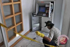 ATM Bank Muamalat Mamuju dibobol