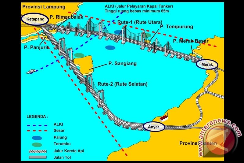 Menanti Jembatan Selat Sunda sebagai warisan SBY