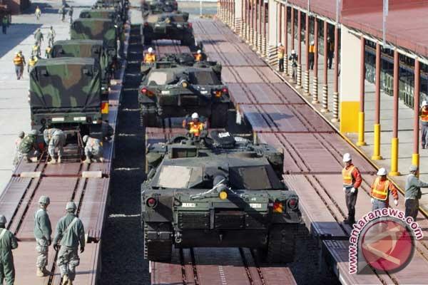 Seoul (antara news) - korea utara mempersiapkan satu pelatihan militer