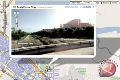 Google selesaikan pencitraan Google Map 3D