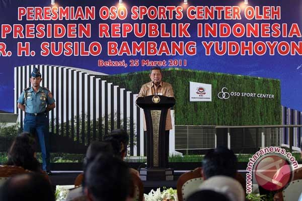 President calls for better performances of Indonesian karatekas