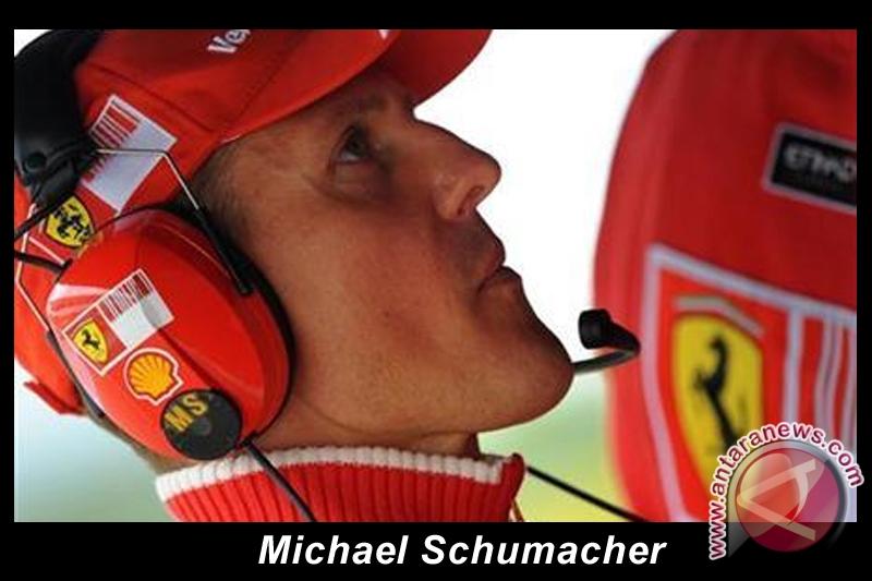 Schumacher tercepat, Webber start terdepan