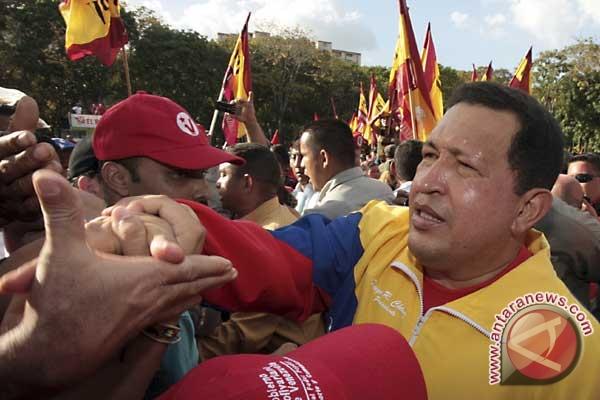 Rakyat Venezuela Sambut Chavez