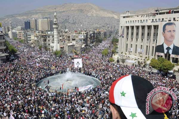 Suriah Membara, 19 Polisi Tewas