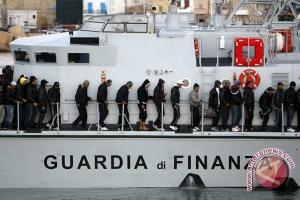 1.000 lebih migran diselamatkan di lepas pantai Libya