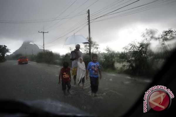 Banjir Thailand masih mencemaskan