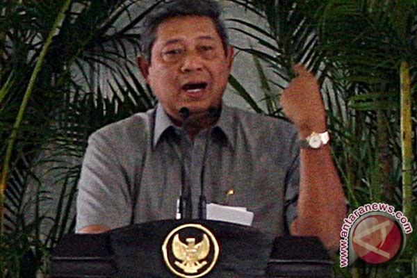 Presiden SBY ingatkan KPU pemilu 2014 lebih kompetitif, panas