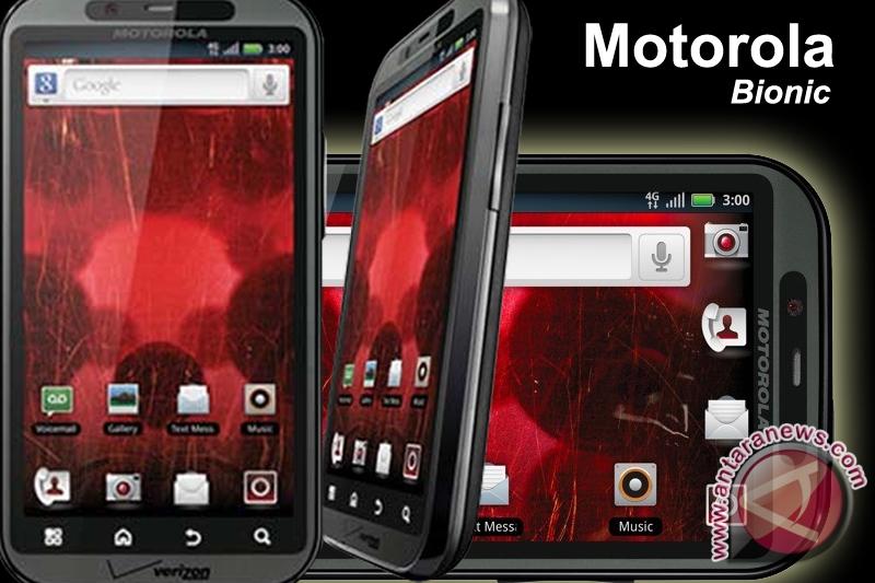 Motorola Tunda Peluncuran Bionic
