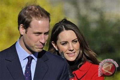 Hilangkan stres, Kate dan William nonton bioskop