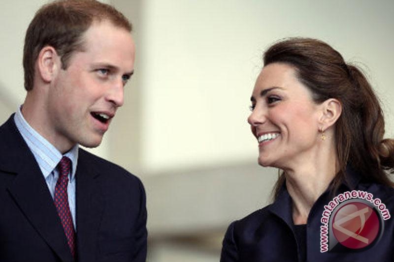 Pangeran William takut kepergok menciumi Kate