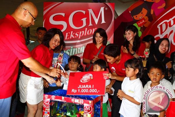 1200 Anak Ikuti Permainan Edukatif Mengenai Nutrisi