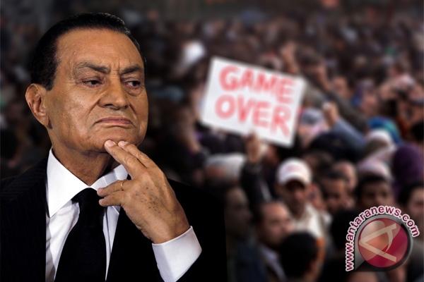 Simpanan pejabat korup, anak-anak Mubarak di Swiss dibekukan
